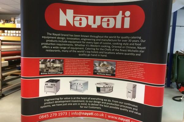 Nayati – Exhibition Stand