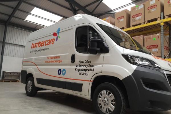 Humbercare – Vehicle Branding