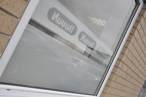 Nayati UK Distribution Centre – Window Etching